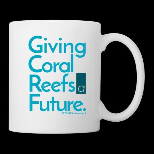 Giving Coral Reefs a Future (blue) - Coffee/Tea Mug