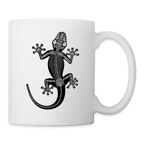 Skeleton Gecko - Coffee/Tea Mug