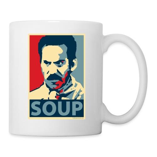 Obama Poster Parody Soup - Coffee/Tea Mug
