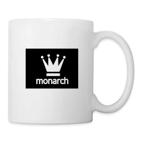 monarch with logo - Coffee/Tea Mug
