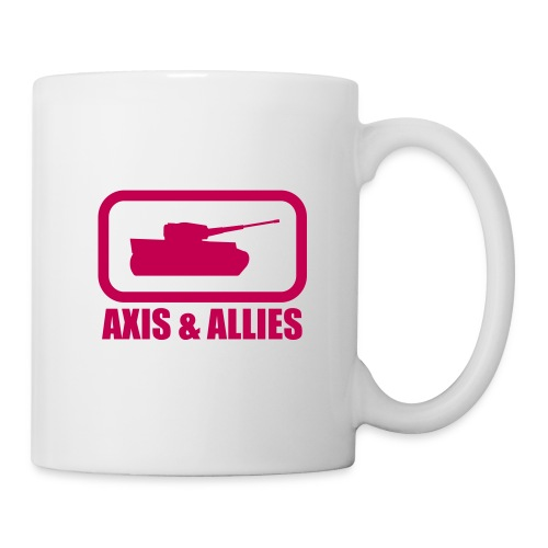 Tank Logo with Axis & Allies text - Multi-color - Coffee/Tea Mug
