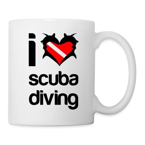 I Love Scuba Diving - Coffee/Tea Mug