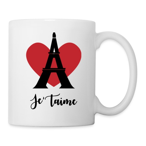 Je'taime Paris - Coffee/Tea Mug