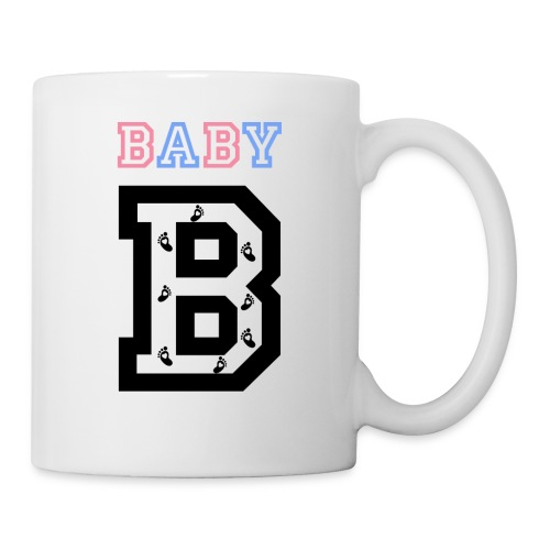 Twins- baby gender reveal for baby B - Coffee/Tea Mug