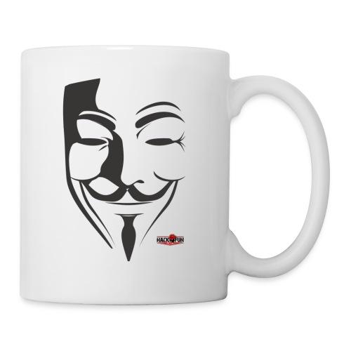 HACK4FUN Guy Fawkes - Coffee/Tea Mug