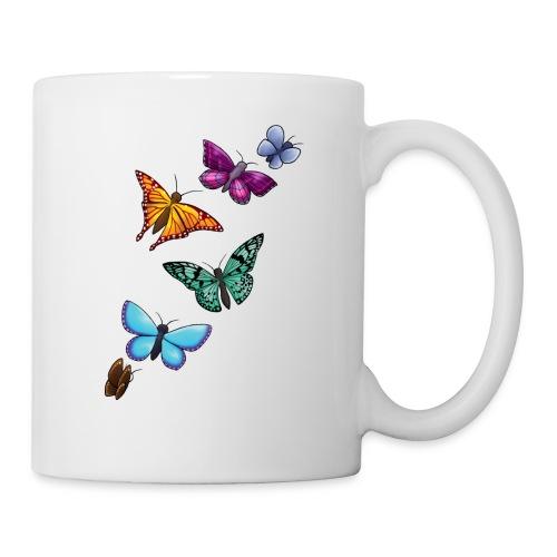butterfly tattoo designs - Coffee/Tea Mug