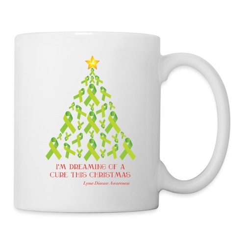 Lyme Free Christmas - White Edition - Coffee/Tea Mug