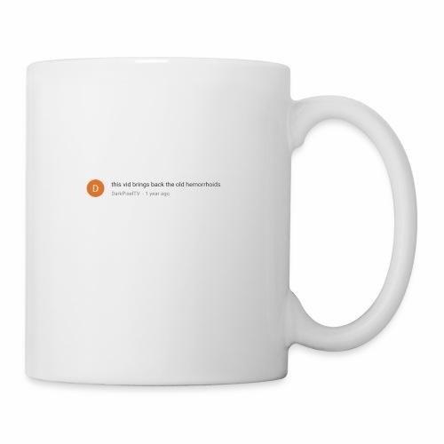this vid brings back the old hemorrhoids - Coffee/Tea Mug
