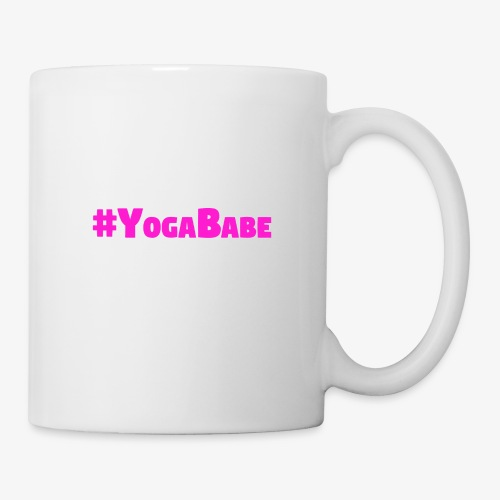 # Yoga Babe Logo translucent background - Coffee/Tea Mug