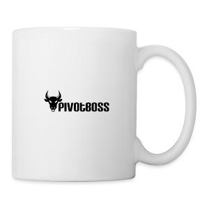 PivotBoss Black Logo - Coffee/Tea Mug