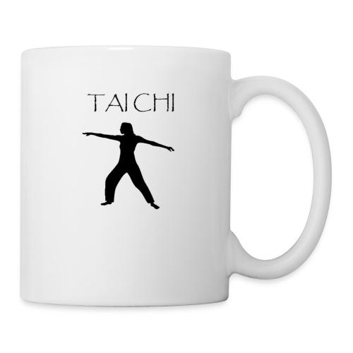 Tai Chi Pose Woman Silhouette - Coffee/Tea Mug