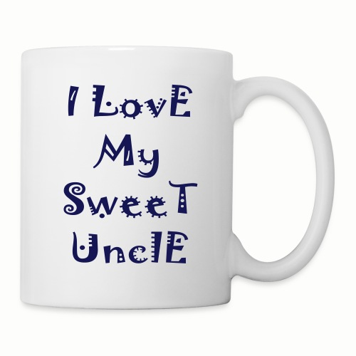 I love my sweet uncle - Coffee/Tea Mug