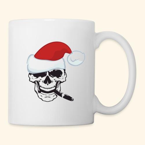 SANTA SKULL - Coffee/Tea Mug