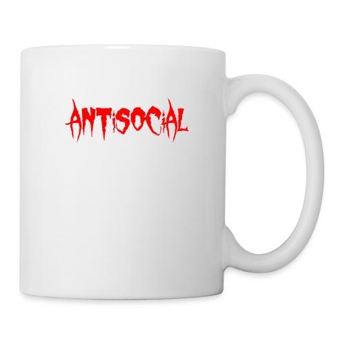 ANTISOCIAL - Coffee/Tea Mug