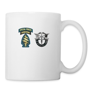 U S Army Special Forces Green Berets SSI DUI - Coffee/Tea Mug