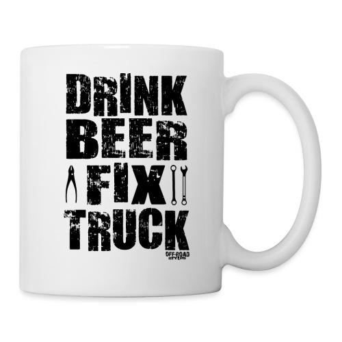DRINK BEER FIX TRUCK - Coffee/Tea Mug