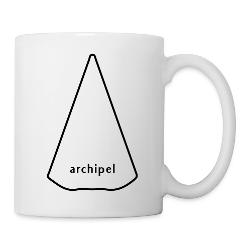 archipel_light grey - Coffee/Tea Mug