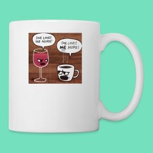 coffee v wine - Coffee/Tea Mug