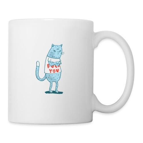 Sociopath Cat - Coffee/Tea Mug