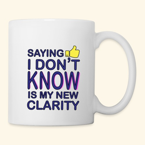 new clarity - Coffee/Tea Mug