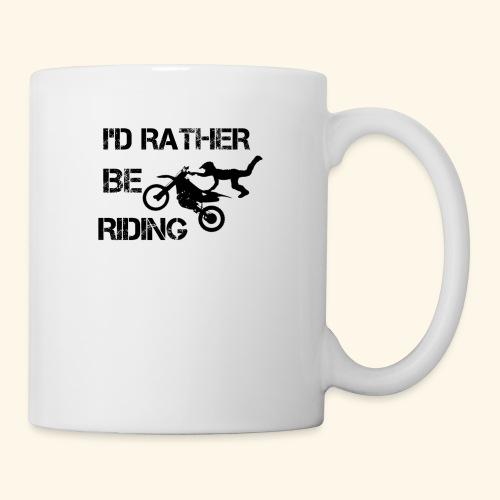 I'D RATHER BE RIDING merchandise - Coffee/Tea Mug