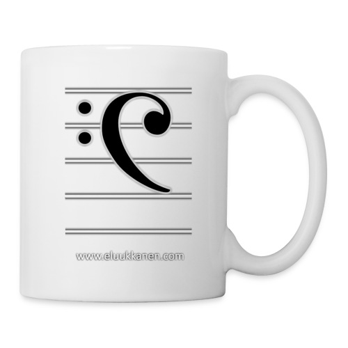 Musical Bass-Key - eluukkanen - Coffee/Tea Mug
