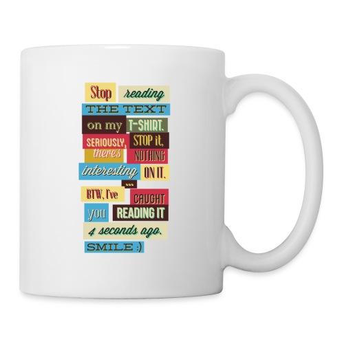 Interesting text - Coffee/Tea Mug