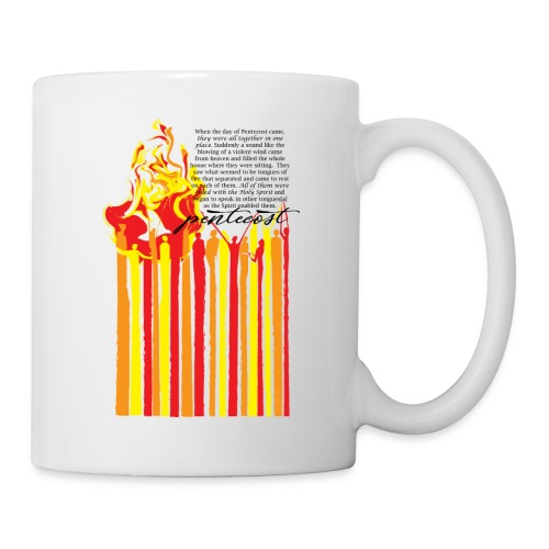 PENTECOST (for white T-shirt) - Coffee/Tea Mug