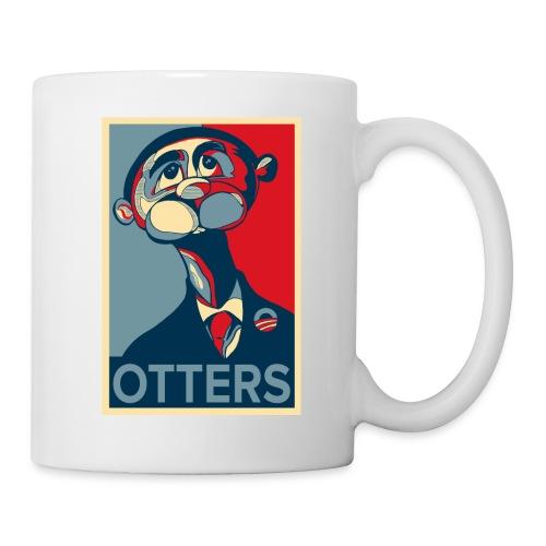 OTTERS (Hope Poster) - Coffee/Tea Mug