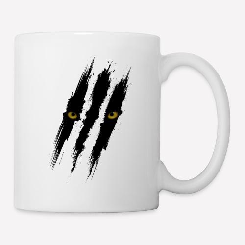 Black Panther Scratch - Coffee/Tea Mug