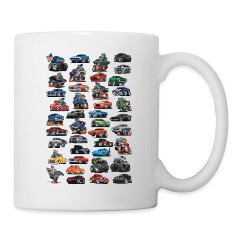 American Hot Rods, Muscle Cars, Pickup Trucks - Coffee/Tea Mug
