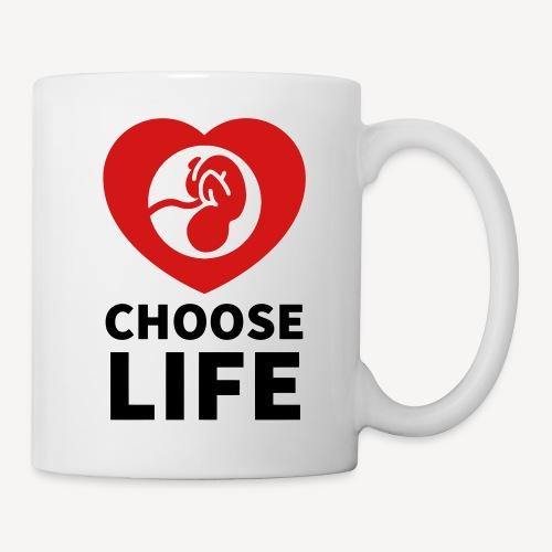 CHOOSE LIFE - Coffee/Tea Mug