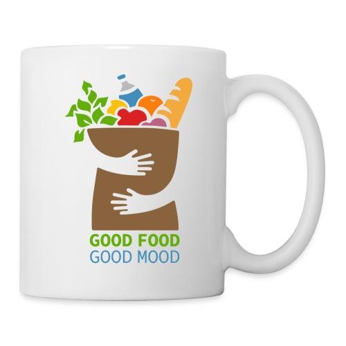 Good Food Good Mood | Minimal Colorful Food Design - Coffee/Tea Mug