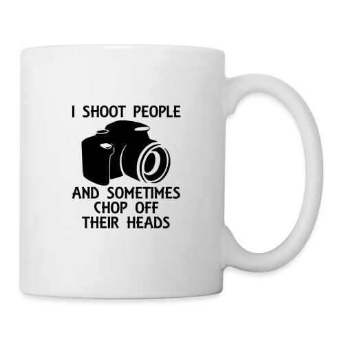 Photography Shoot People Cut Off Face - Coffee/Tea Mug