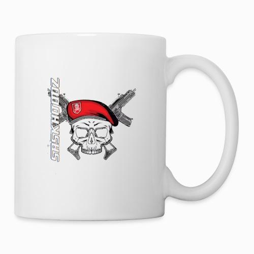 saskhoodz skull - Coffee/Tea Mug