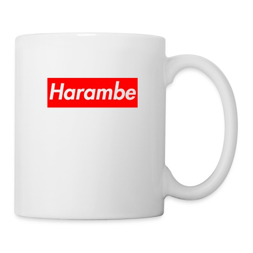 Harambe x Supreme Box Logo - Coffee/Tea Mug