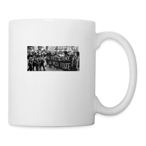 No Racist Cops - Coffee/Tea Mug