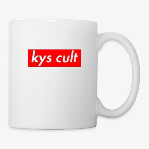 kys cult red - Coffee/Tea Mug