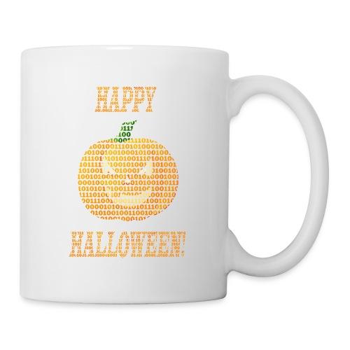 Limited Edition!! Happy Halloween Binary Pumpkin - Coffee/Tea Mug