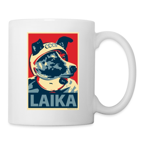 Laika Obama Poster Parody - Coffee/Tea Mug