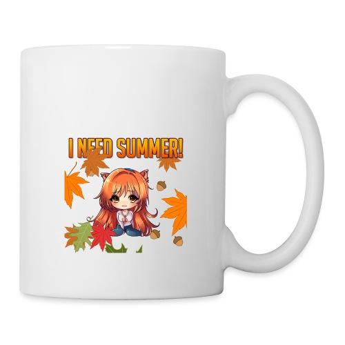 I NEED SUMMER - CARMEL - Coffee/Tea Mug