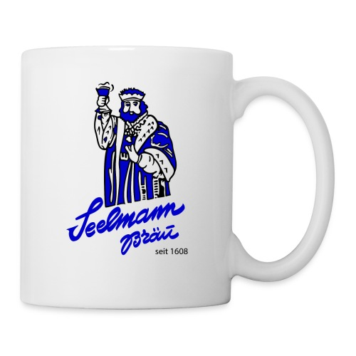 Brewery Gambrinus logo blue - Coffee/Tea Mug