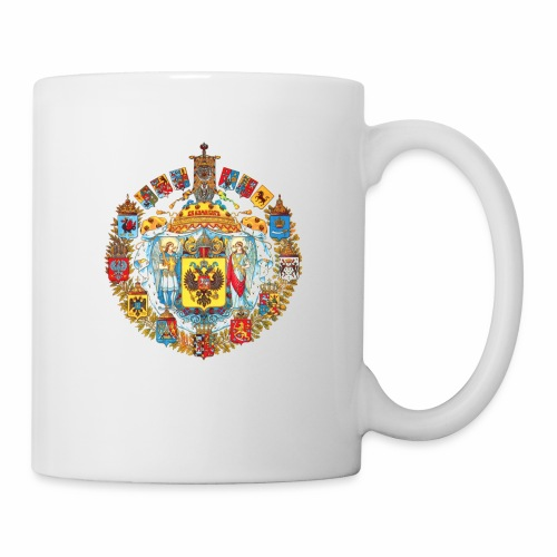 800px Greater coat of arms of the Russian empire - Coffee/Tea Mug