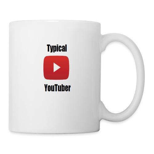 Typical YouTuber Logo - Coffee/Tea Mug