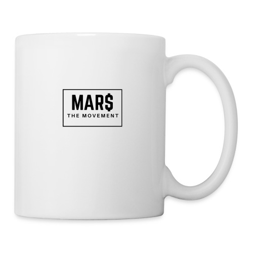 MAR$ Orginal White T-Shirt - Coffee/Tea Mug