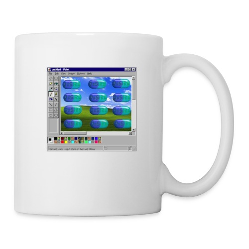 Desire windows xp paint edition - Coffee/Tea Mug