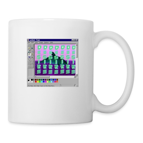 Desire windows xp paint whale edition - Coffee/Tea Mug