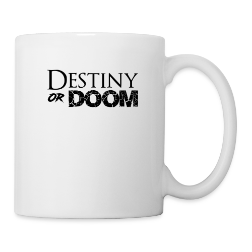 Destiny or Doom Black Logo - Coffee/Tea Mug
