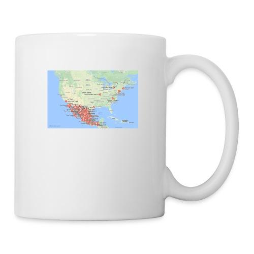 Taco_map - Coffee/Tea Mug