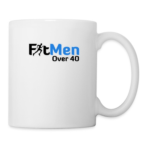 Fit Men Over 40 V-Neck Short Sleeve Shirt - Coffee/Tea Mug